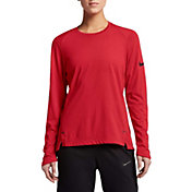 Nike Women's Dry Elite Long Sleeve Basketball Shirt