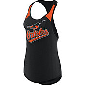 Nike Women's Baltimore Orioles Dri-FIT Black Wordmark Tank Top