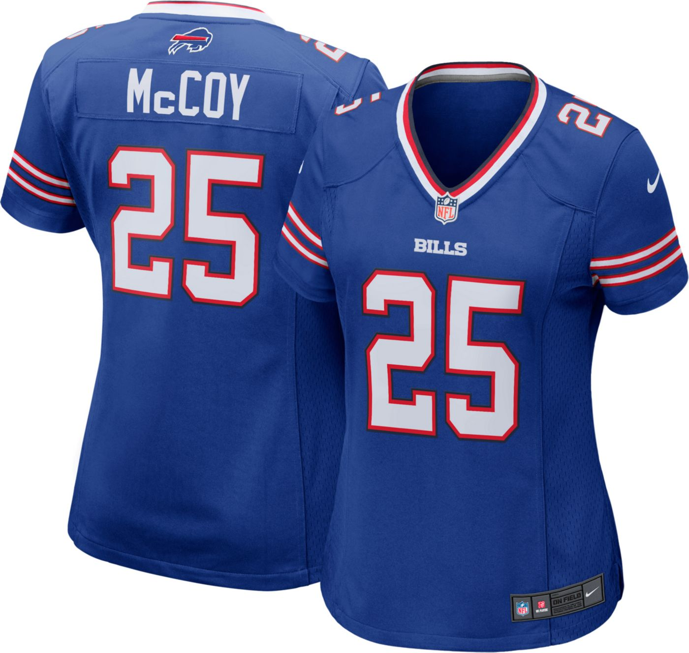 Nike Women's Home Game Jersey Buffalo Bills LeSean McCoy #25
