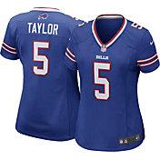 Nike Women's Home Game Jersey Buffalo Bills Tyrod Taylor #5