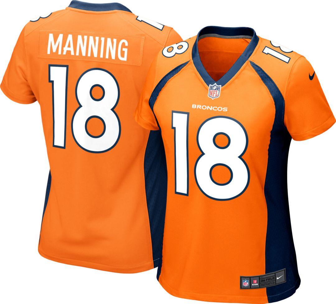 be861898 Nike Women's Home Game Jersey Denver Broncos Peyton Manning #18