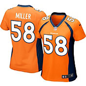 Nike Women's Home Game Jersey Denver Broncos Von Miller #58