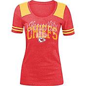New Era Women's Kansas City Chiefs Red Tri-Blend T-Shirt