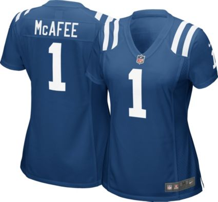 a51eaed1f Nike Women s Home Game Jersey Indianapolis Colts Pat McAfee  1.  noImageFound. 1   1