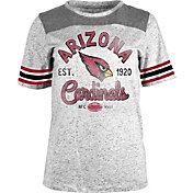 Product Image · NFL Team Apparel Women s Arizona Cardinals Peppercorn  Throwback Grey T-Shirt 107e96b9c7
