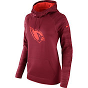 Nike Women's Arizona Cardinals Therma-FIT Red Performance Hoodie