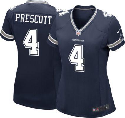 Nike Women s Game Jersey Dallas Cowboys Dak Prescott  4  60f7b9d75