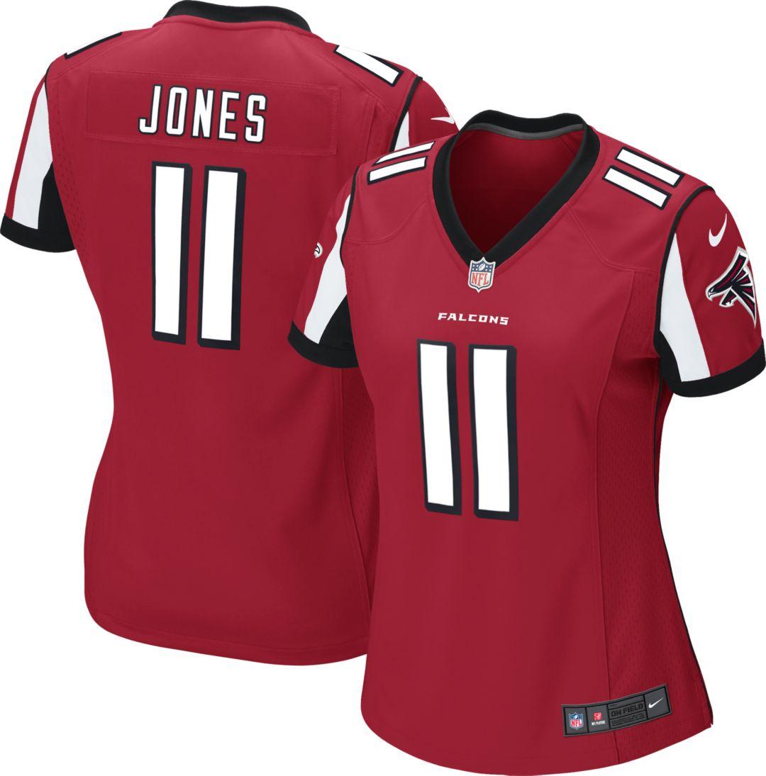 sports shoes 96f78 1b064 Nike Women's Home Game Jersey Atlanta Falcons Julio Jones #11