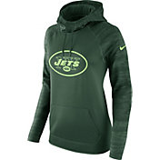 Nike Women's New York Jets Therma-FIT Green Performance Hoodie