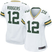 Nike Women s Away Game Jersey Green Bay Packers Aaron Rodgers  12 ... 99bb65f7c