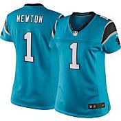Nike Women's Color Rush Limited Jersey Carolina Panthers Cam Newton #1