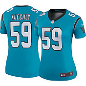 Nike Women's Color Rush Legend Jersey Carolina Panthers Luke Kuechly #59