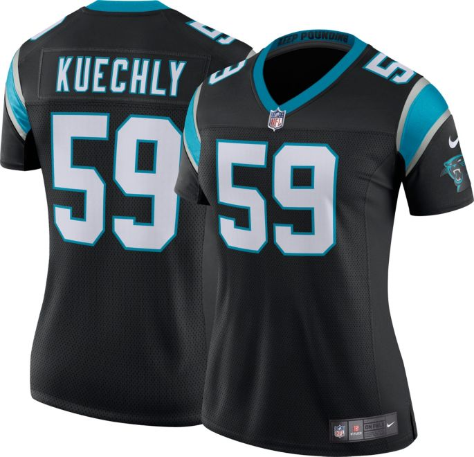 sneakers for cheap d3579 bf9be Nike Women's Home Limited Jersey Carolina Panthers Luke Kuechly #59