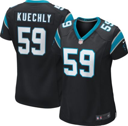 ccb2d5378 Nike Women s Home Game Jersey Carolina Panthers Luke Kuechly  59 ...