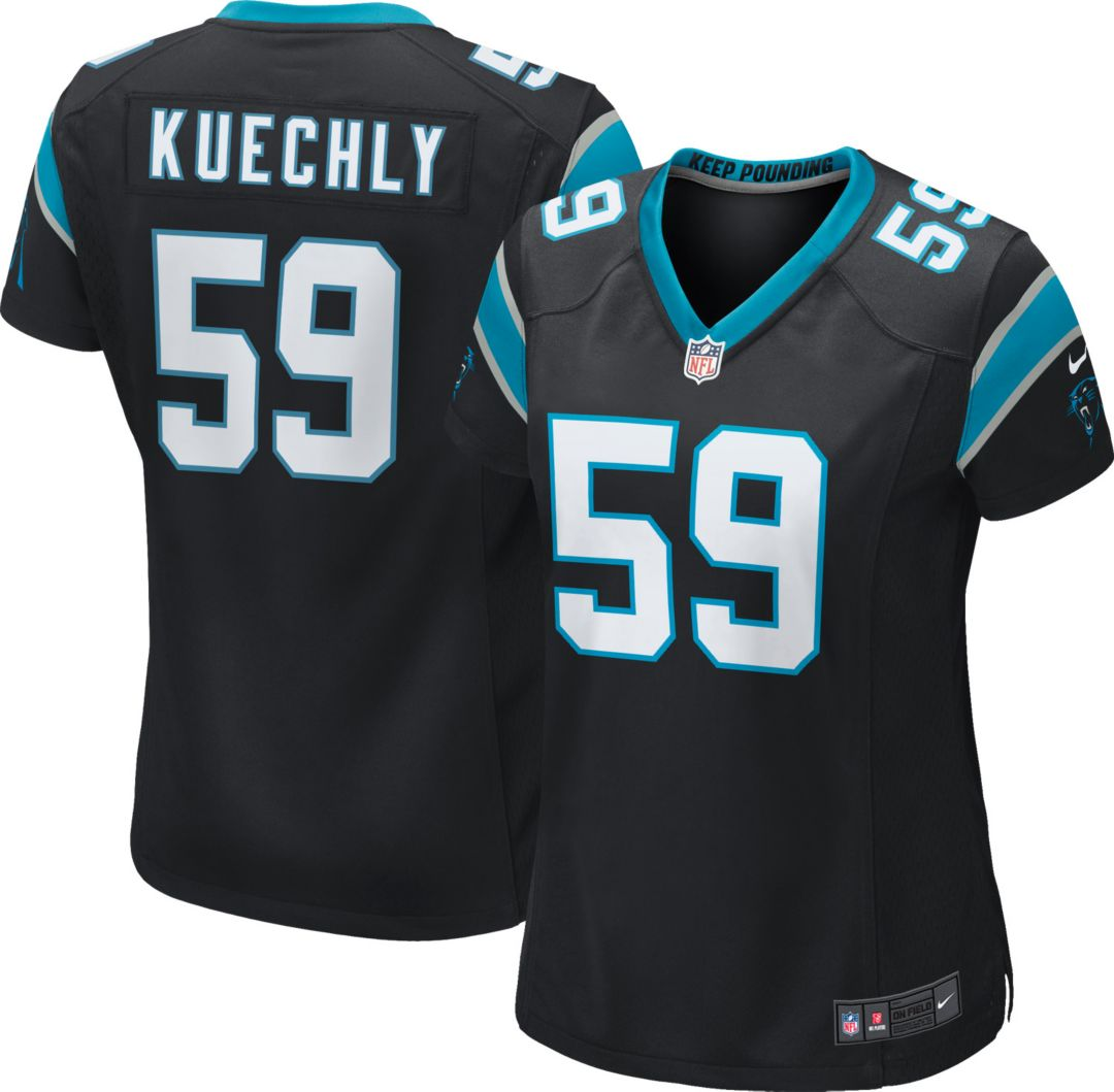 the latest e9214 23826 Nike Women's Home Game Jersey Carolina Panthers Luke Kuechly #59