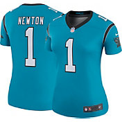 Nike Women's Color Rush Legend Jersey Carolina Panthers Cam Newton #1