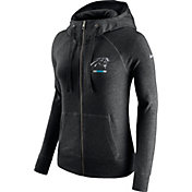 d545ec117 Product Image · Nike Women s Carolina Panthers Gym Vintage Full-Zip Black  Hoodie
