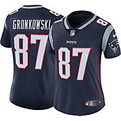 Nike Women's Home Limited Jersey New England Patriots Rob Gronkowski #87
