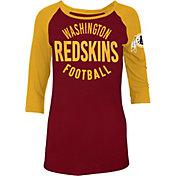 New Era Women's Washington Redskins Red Raglan Shirt