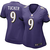 Nike Women's Home Game Jersey Baltimore Ravens Justin Tucker #9
