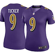 Nike Women's Color Rush Legend Jersey Baltimore Ravens Justin Tucker #9