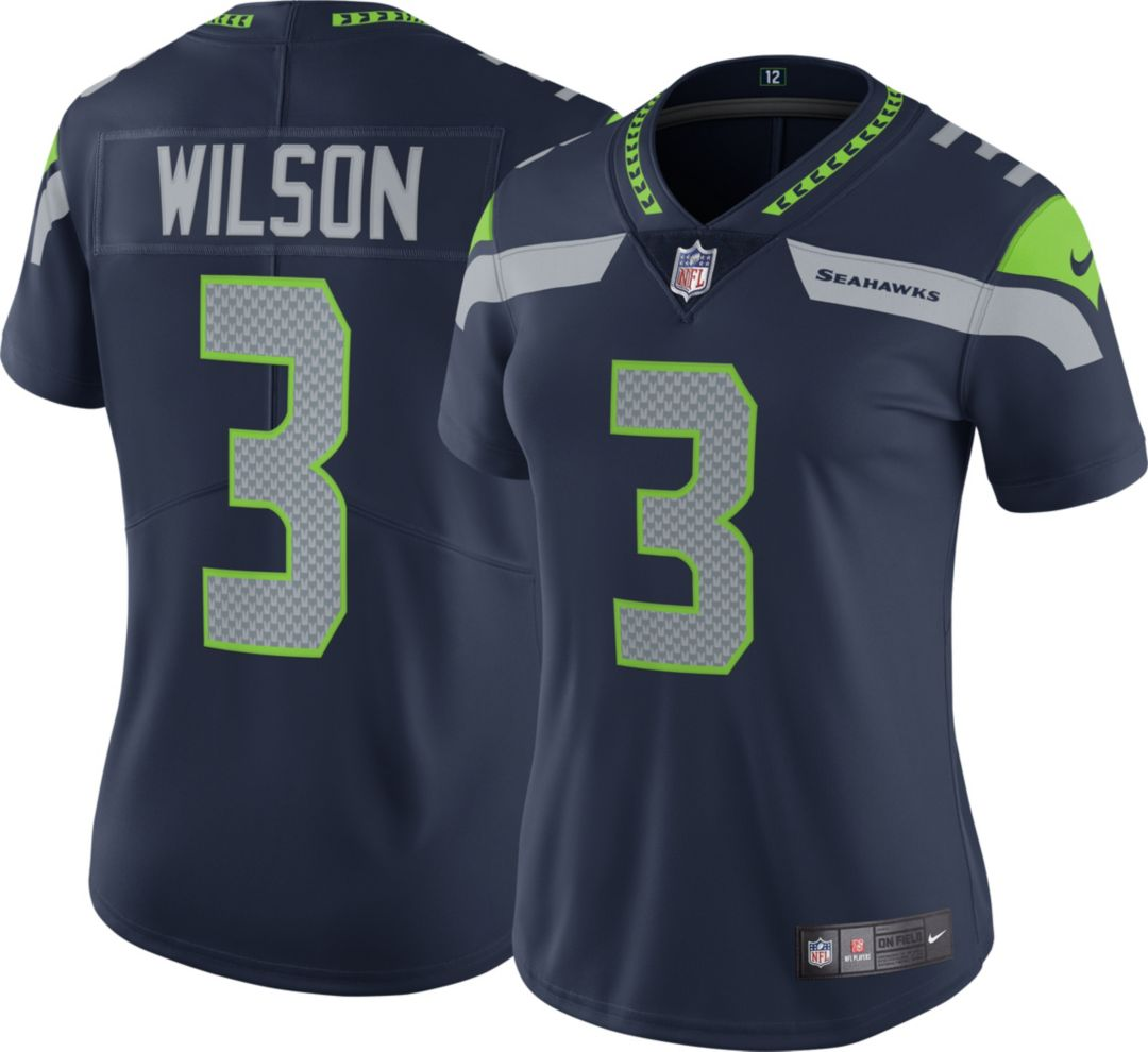 3a58ec42 Nike Women's Home Limited Jersey Seattle Seahawks Russell Wilson #3