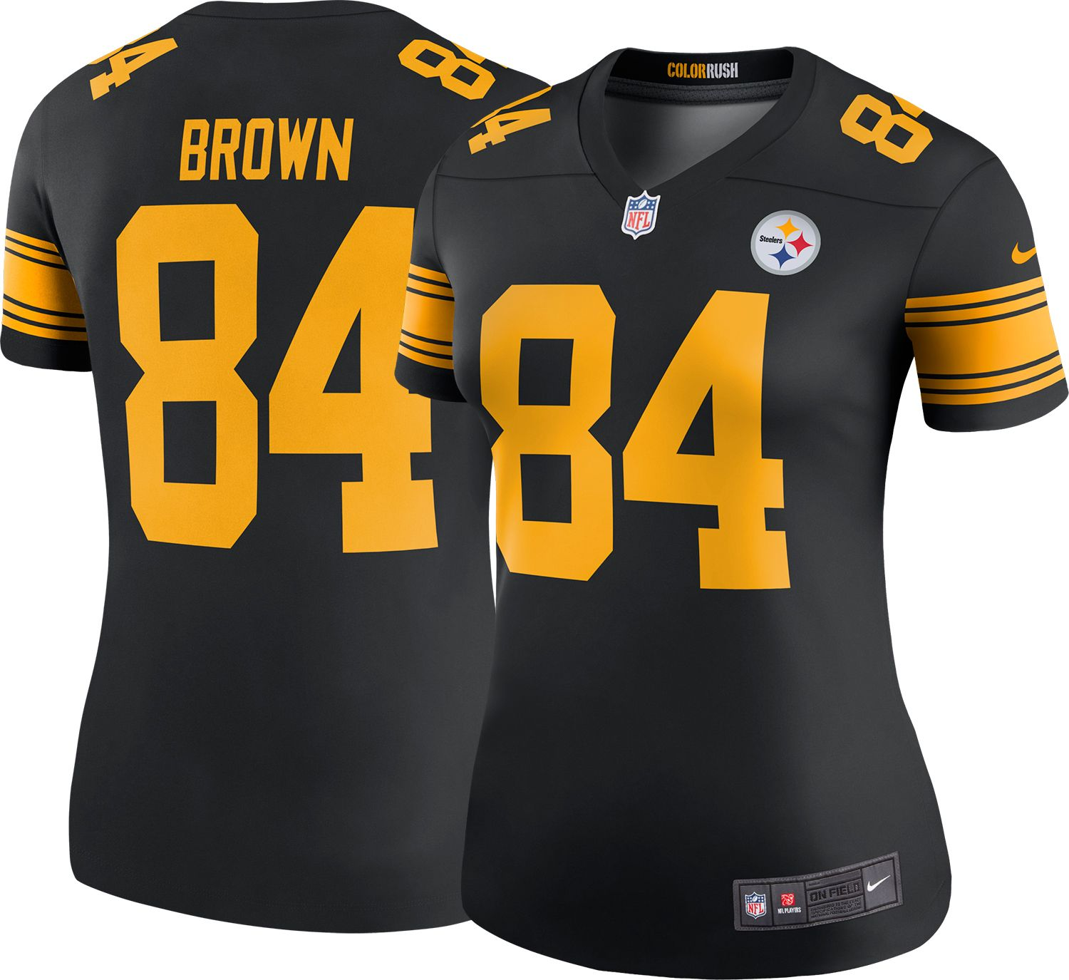 steelers color rush women's jersey