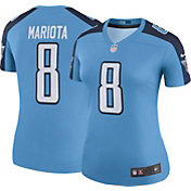 Nike Women's Color Rush Legend Jersey Tennessee Titans Marcus Mariota #8
