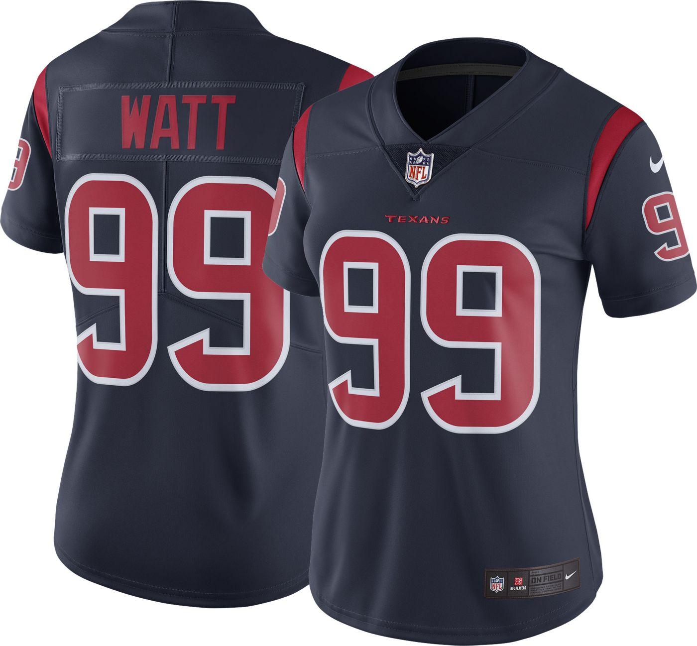 Nike Women's Color Rush Limited Jersey Houston Texans J.J. Watt #99