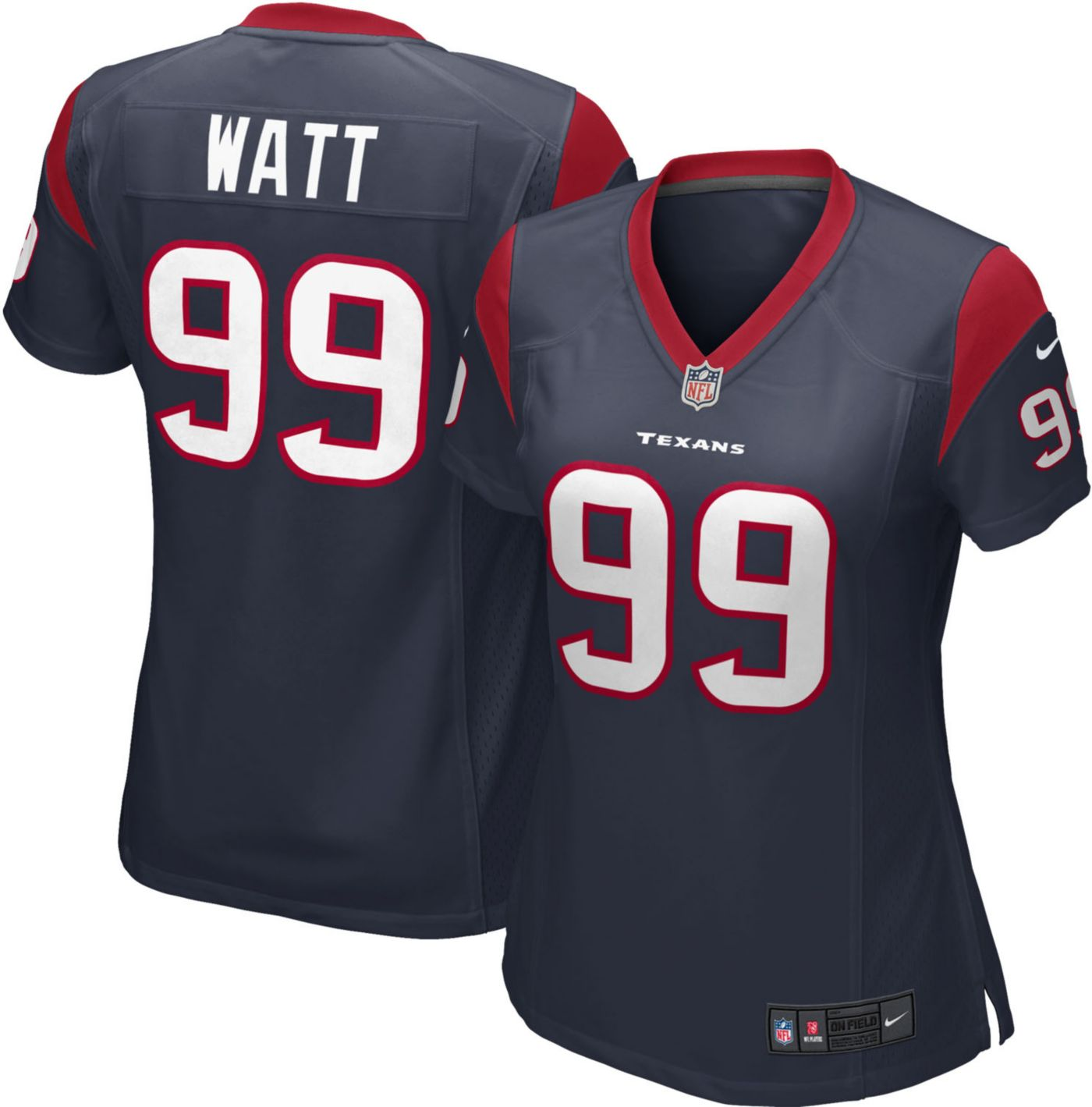 Nike Women's Home Game Jersey Houston Texans J.J. Watt #99
