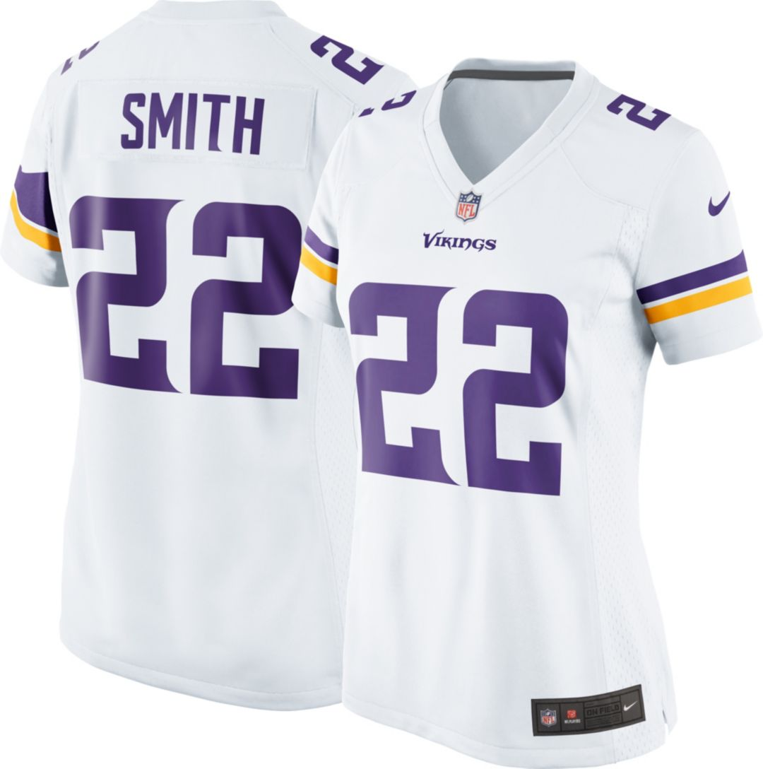 finest selection bd1ee fe69d Nike Women's Away Game Jersey Minnesota Vikings Harrison Smith #22