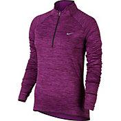 Nike Women's Element Sphere Half Zip Long Sleeve Running Shirt