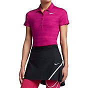 Nike Women's Precision Zebra Print Golf Polo