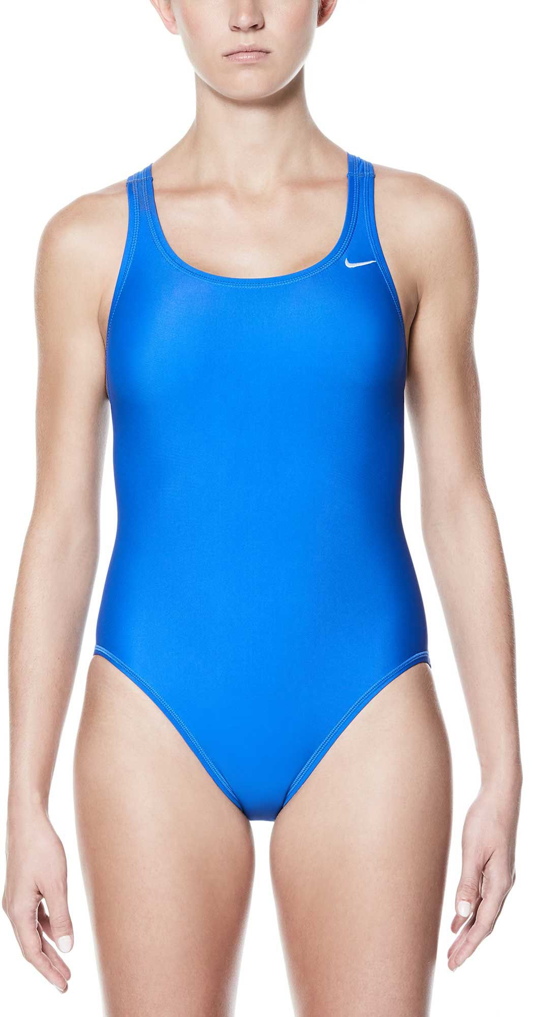a6350c512f Nike Women's Core Solid Fast Back Swimsuit | DICK'S Sporting ...