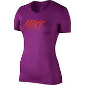 Nike Women's Pro Cool Graphic T-Shirt