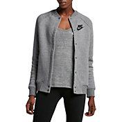 Nike Women's Sportswear Rally Varsity Fleece Jacket
