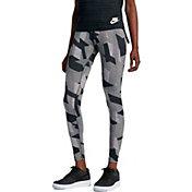 Nike Women's Skyscraper Leg-A-See Printed Tights