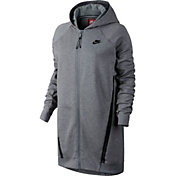 Nike Women's Tech Fleece Cocoon Mesh Full Zip Hoodie