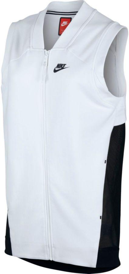 Nike Women s Tech Fleece Cocoon Mesh Full Zip Vest. noImageFound c4bee195d