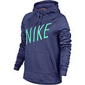 Nike Women's Therma Embossed Graphic Hoodie