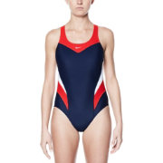 64d91befd4 Select Store. Close-icon. Nike Women's Victory Color Block Power Back Tank  Swimsuit