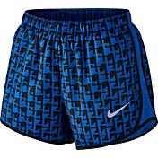 Nike Women's 3'' Dry Tempo Cadence Printed Running Shorts