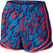 Nike Women's Dry Tempo Overdrive Printed Running Shorts