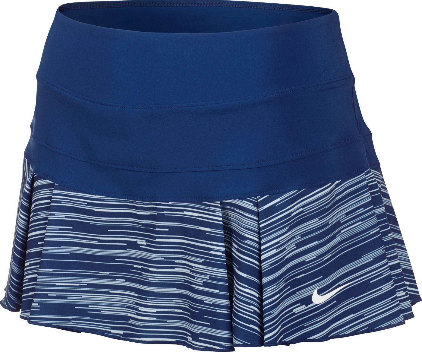 Nike Women's Victory Printed Pleated Tennis Skirt