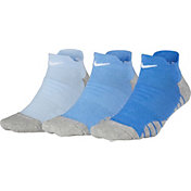 Nike Women's Dry Cushion Performance Low Cut Training Sock 3 Pack