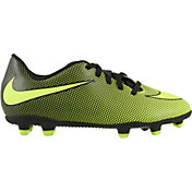 innovative design c2770 becdb Product Image Nike Kids  Bravata II FG Soccer Cleats. Black Volt