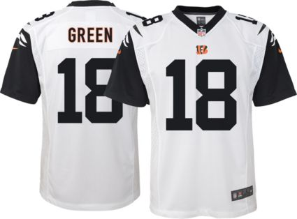 46bfd10093b Nike Youth Color Rush Game Jersey Cincinnati Bengals A.J. Green  18 ...