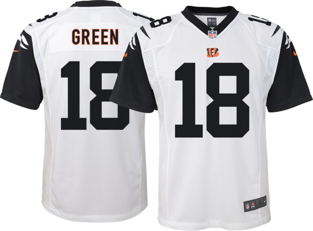 size 40 12793 208a0 Nike Youth Color Rush Game Jersey Cincinnati Bengals A.J. Green #18