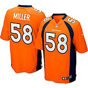 Nike Youth Denver Broncos Von Miller #58 Orange Game Jersey