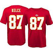 Nike Youth Kansas City Chiefs Travis Kelce #87 Red T-Shirt